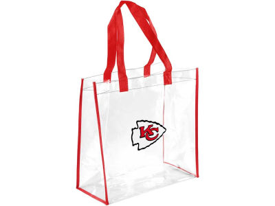 Kansas City Chiefs Clear Reusable Bag