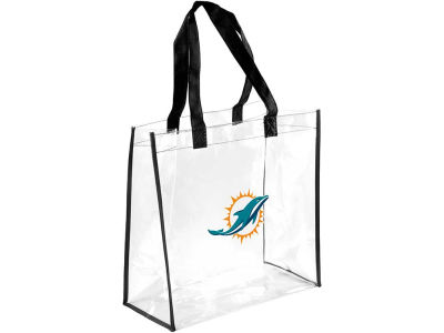 Miami Dolphins Clear Reusable Bag