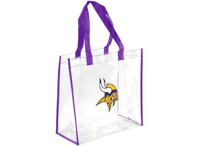 Minnesota Vikings Clear Reusable Bag