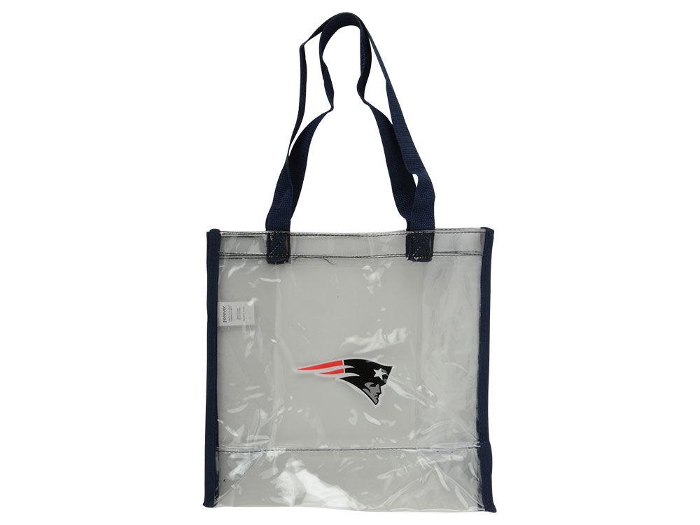 New England Patriots Clear Reusable Bag