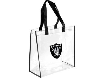 Oakland Raiders Clear Reusable Bag