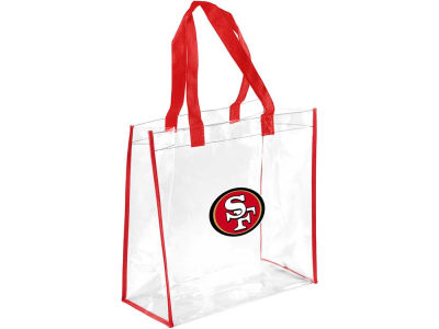 San Francisco 49ers Clear Reusable Bag
