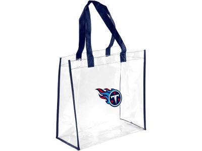 Tennessee Titans Clear Reusable Bag