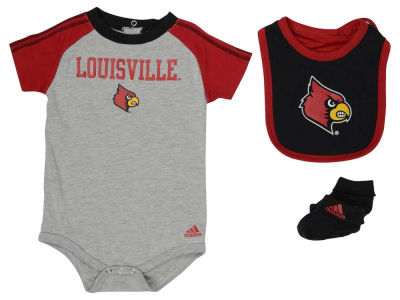 Louisville Cardinals NCAA Infant Bib & Bootie Set
