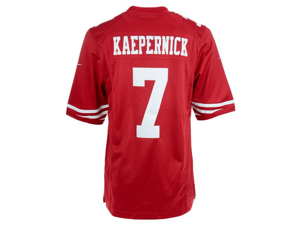 San Francisco 49ers Colin Kaepernick Nike NFL Men s Limited Jersey ... 07afa8790