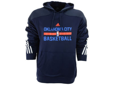 Oklahoma City Thunder adidas NBA Mens Practice Pullover Hoodie