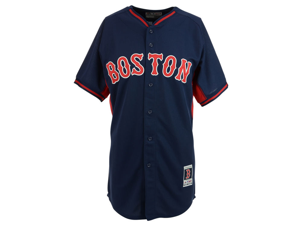 c9552ffb ... cheap boston red sox majestic mlb mens cool base batting practice jersey  ee502 9f755