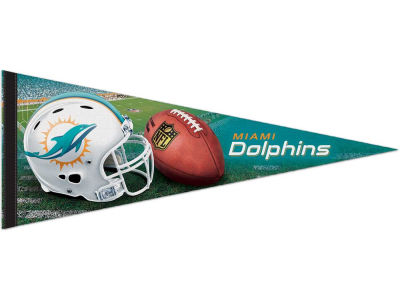 Miami Dolphins 12x30in Pennant