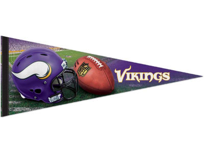 Minnesota Vikings 12x30in Pennant
