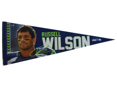 Seattle Seahawks Russell Wilson 12x30 Premium Player Pennant