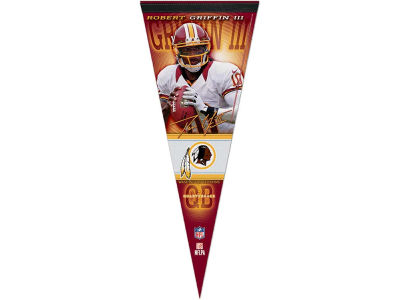 Washington Redskins Robert Griffin III 12x30 Premium Player Pennant