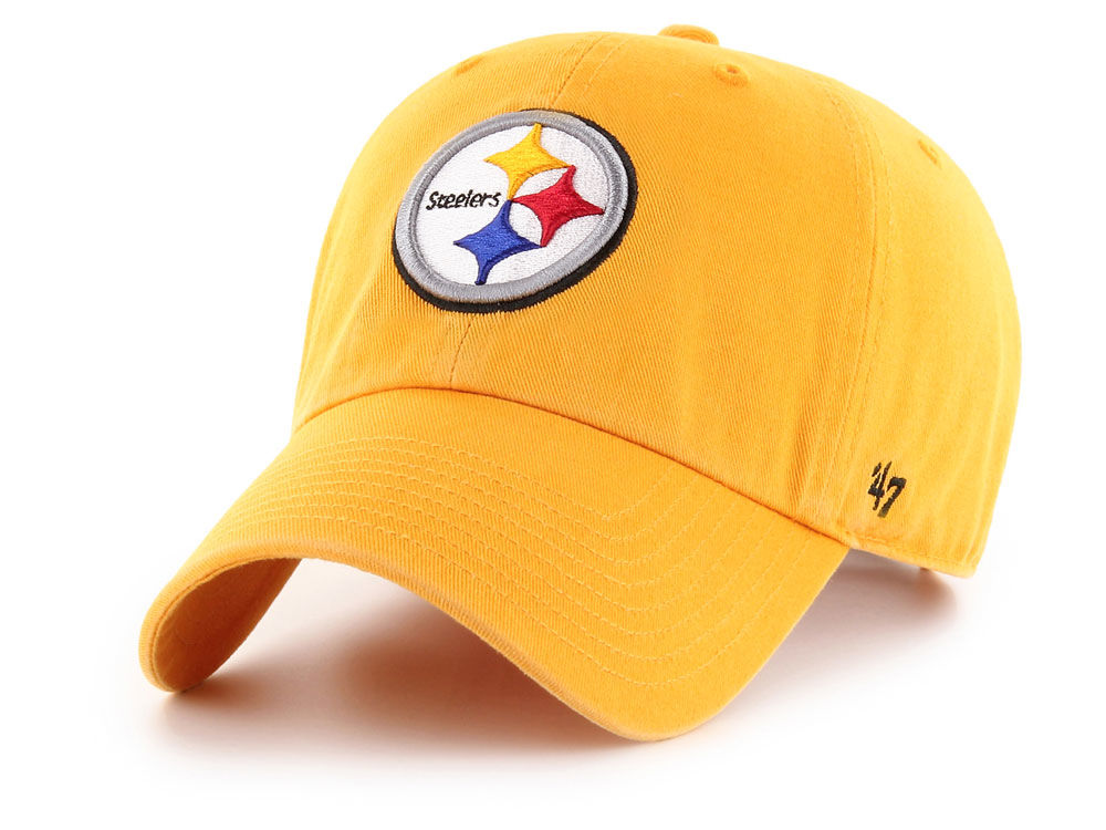 Pittsburgh Steelers  47 NFL  47 CLEAN UP Cap  ca7d77e71