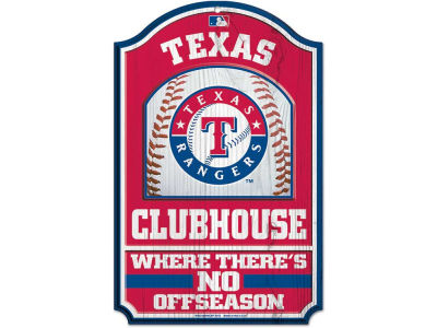 Texas Rangers 11x17 Wood Sign