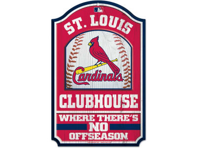 St. Louis Cardinals 11x17 Wood Sign