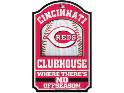 Cincinnati Reds 11x17 Wood Sign