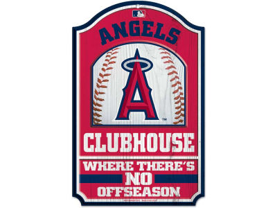 Los Angeles Angels 11x17 Wood Sign