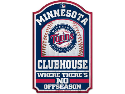 Minnesota Twins 11x17 Wood Sign
