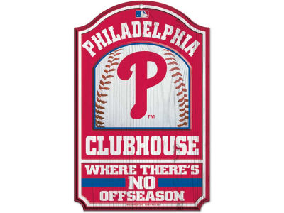 Philadelphia Phillies 11x17 Wood Sign