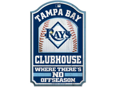 Tampa Bay Rays 11x17 Wood Sign