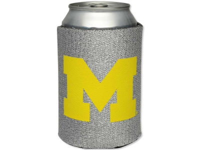 Michigan Wolverines Glitter Can Coozie