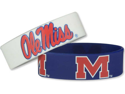 Ole Miss Rebels 2-pack Wide Bracelet