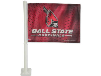 Ball State Cardinals Car Flag