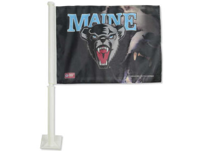 Maine Black Bears Car Flag