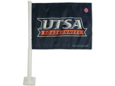 University of Texas San Antonio Roadrunners Car Flag