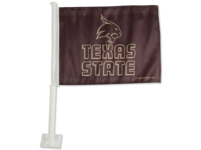Texas State Bobcats Car Flag