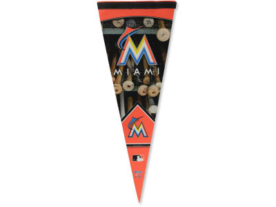 Miami Marlins 12x30in Pennant