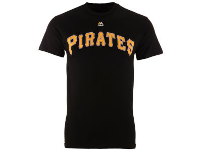 Pittsburgh Pirates Majestic MLB Men's Official Wordmark Team T-Shirt
