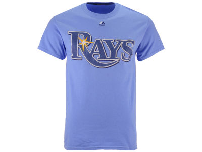 Tampa Bay Rays Majestic MLB Men's Official Wordmark T-Shirt