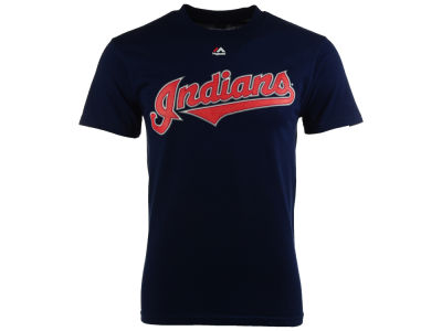 Cleveland Indians Majestic MLB Men's Official Wordmark Team T-Shirt
