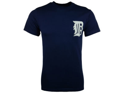 Detroit Tigers Majestic MLB Men's Official Wordmark T-Shirt