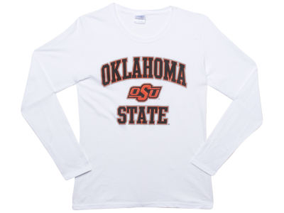 Oklahoma State Cowboys NCAA Womens Arch Long Sleeve T-Shirt