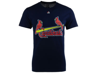 St. Louis Cardinals Majestic MLB Men's Official Wordmark Team T-Shirt