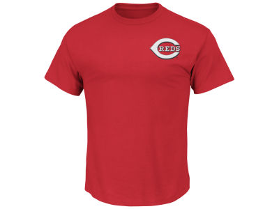Cincinnati Reds Majestic MLB Men's Official Wordmark Team T-Shirt