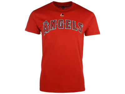 Los Angeles Angels Majestic MLB Men's Official Wordmark T-Shirt