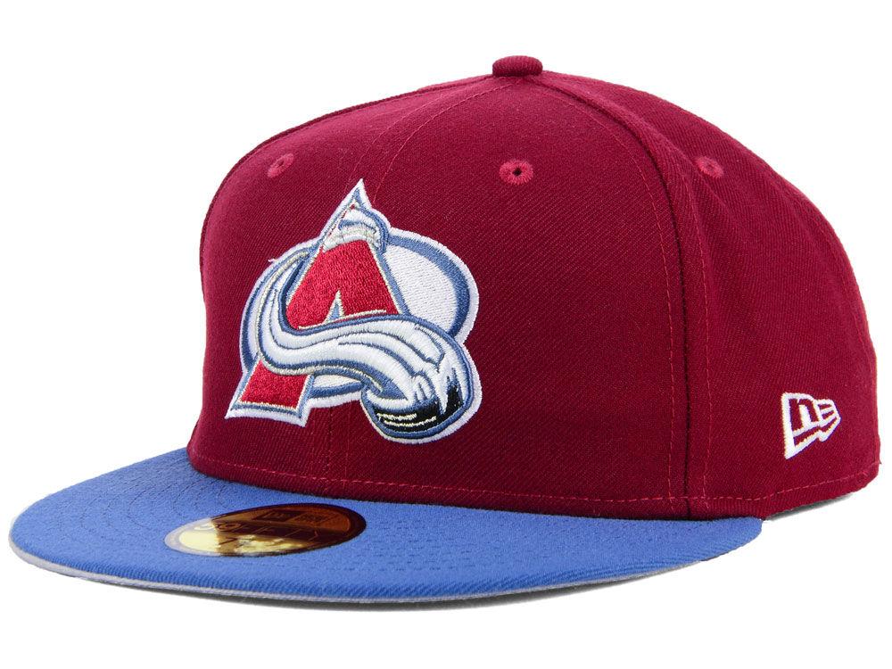 1ca8047607f Colorado Avalanche New Era NHL Basic 59FIFTY Cap