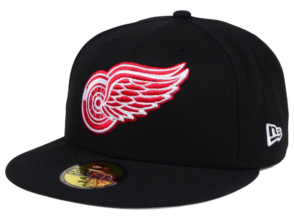 Detroit Red Wings New Era NHL Basic 59FIFTY Cap  b8e91bdc6