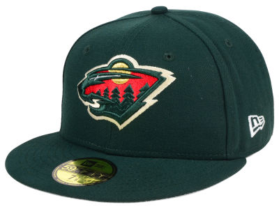 Minnesota Wild New Era NHL Basic 59FIFTY Cap