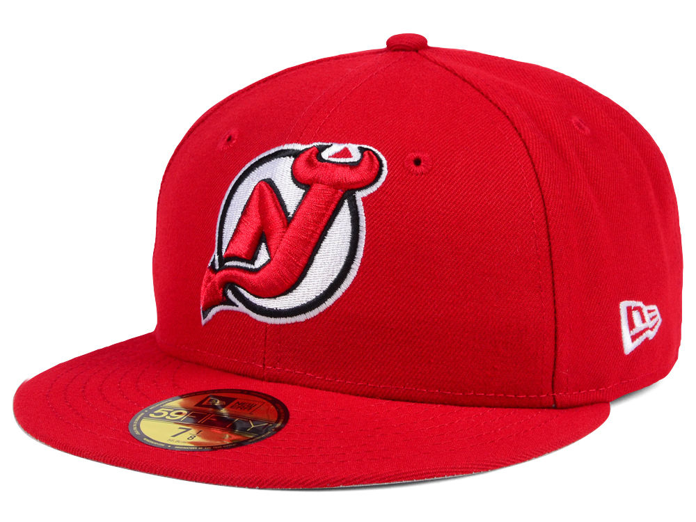 official photos e522e 7106b ... inexpensive new jersey devils new era nhl basic 59fifty cap lids b0667  36027