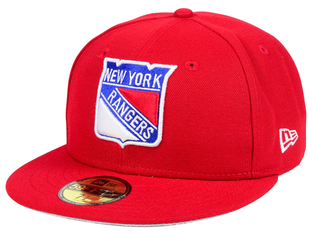 6ef93fd975b New York Rangers New Era NHL Basic 59FIFTY Cap