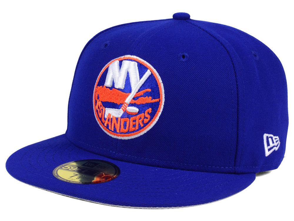 05d98bf9b53 New York Islanders New Era NHL Basic 59FIFTY Cap