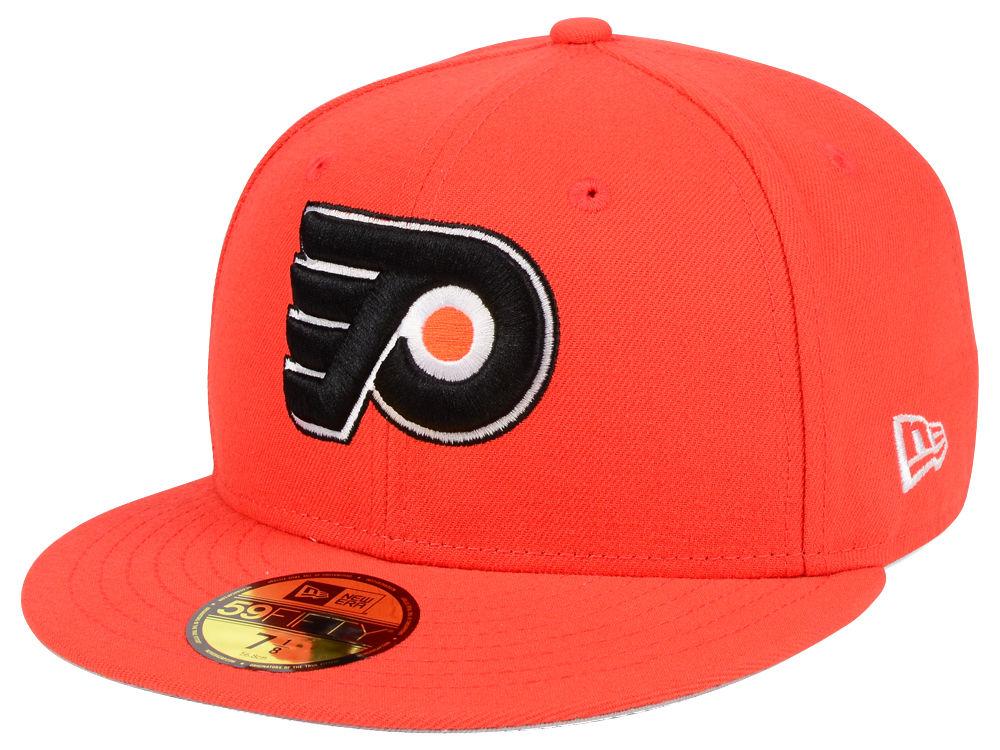 a976d3f4451 Philadelphia Flyers New Era Nhl Basic 59fifty Cap Lids