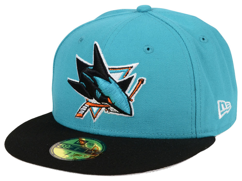 official photos dd817 cfd88 ... reduced san jose sharks new era nhl basic 59fifty cap 1f473 558e8