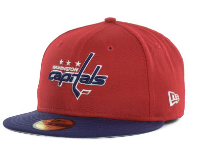Washington Capitals New Era NHL Basic 59FIFTY Cap