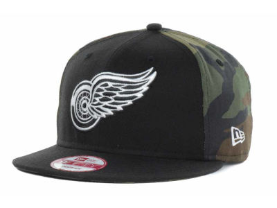Detroit Red Wings New Era NHL Mid Camo 9FIFTY Snapback Cap