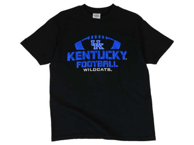 Kentucky Wildcats NCAA Youth Solar Football Outline T-Shirt