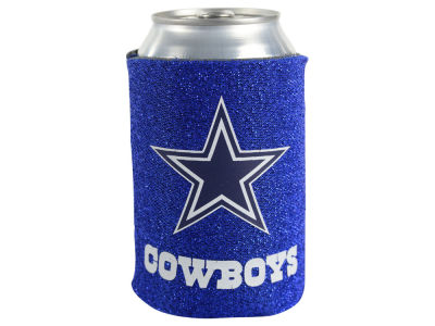 Dallas Cowboys Glitter Can Coozie
